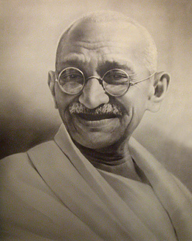 Gandhi nonviolence essay