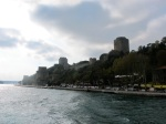 On the Bosphorus.