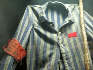 The uniform Jews were forced to wear during World War II.