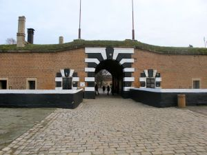 The entrance to the Gestapo prison.