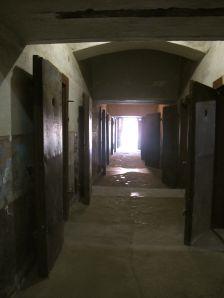 Inside the prison.