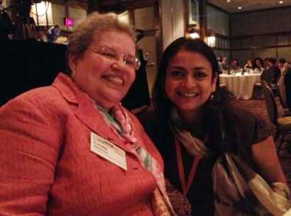 Linda Randolph and I had dinner together at a racial healing conference last week.