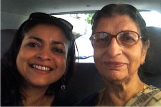 One reason I miss India terribly: my pishi (aunt).