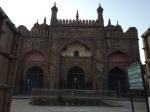 A mosque built by Mughal Emperor Aurangzeb.