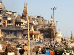 Manikarnika Ghat: a factory for cremations.