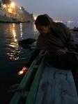 Honoring Ma Ganga.