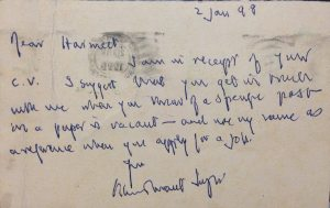 The letter Khushwant Singh wrote to Harmeet.
