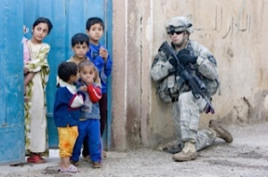 "I patrolled with 1-9 Infantry soldiers who dubbed one neighborhood in Ramadi ""the heart of darkness."""