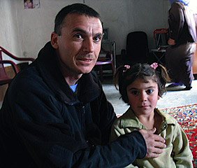 Ceasar was proud to take us to meet his family. His daughters dreamed of leaving Iraq.