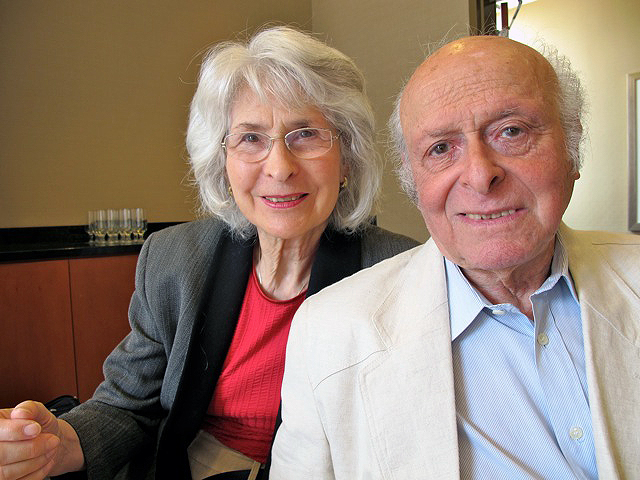 Buddy and Gerti Elias in Atlanta in 2011.