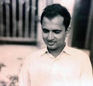 A young Tapan Kumar Basu.