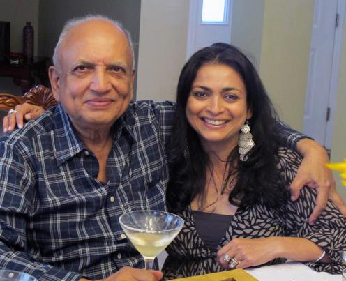 Rangakaka and me in New York, 2011.